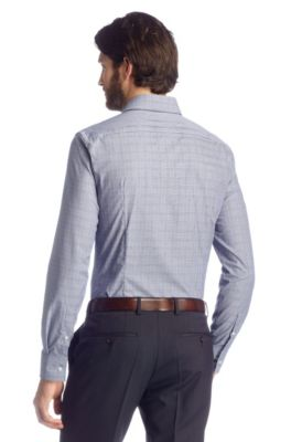 acaf8f149 BOSS - Slim fit business shirt in Egyptian cotton 'Jaron'