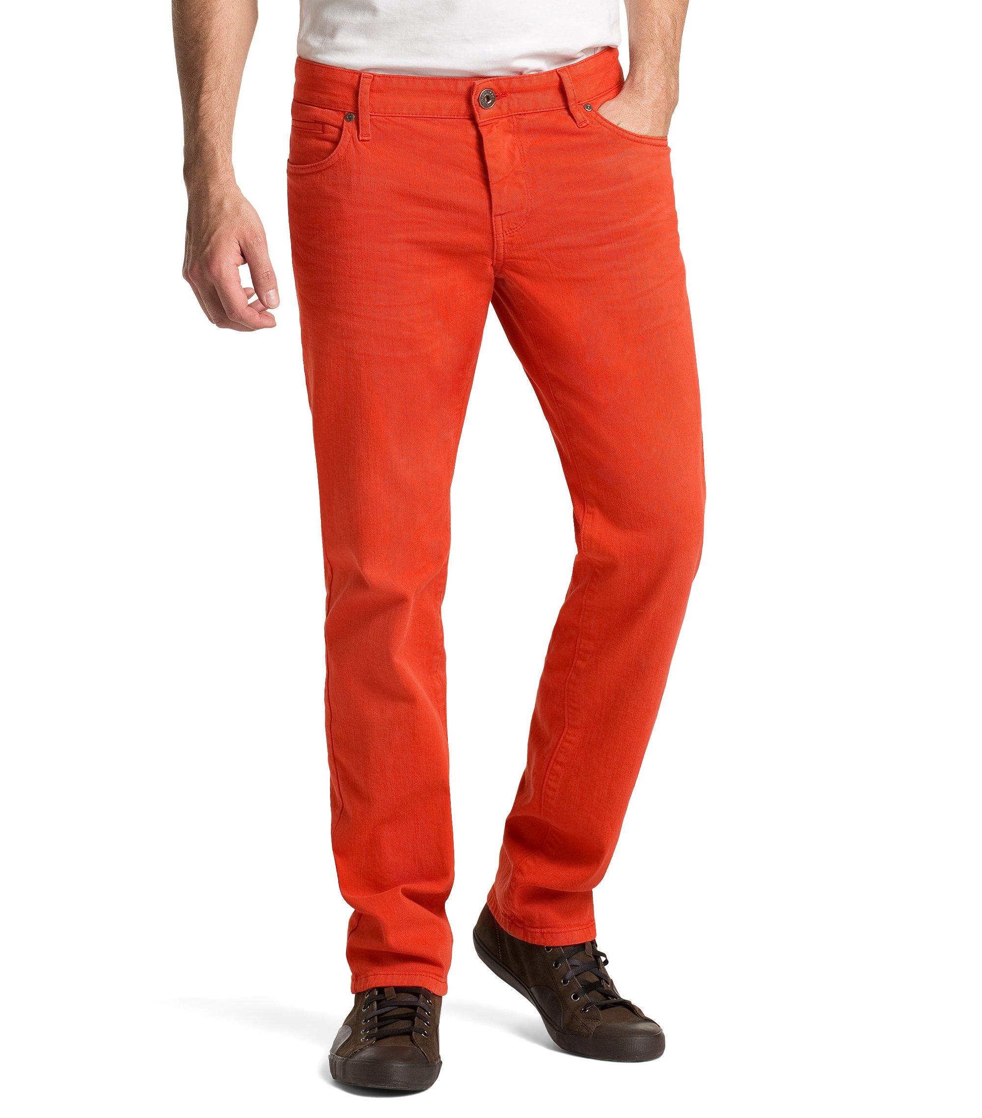 Regular fit jeans ´Orange24 Barcelona` van een m, Donkerrood