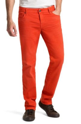Regular-Fit Jeans ´Orange24 Barcelona`, Dunkelrot