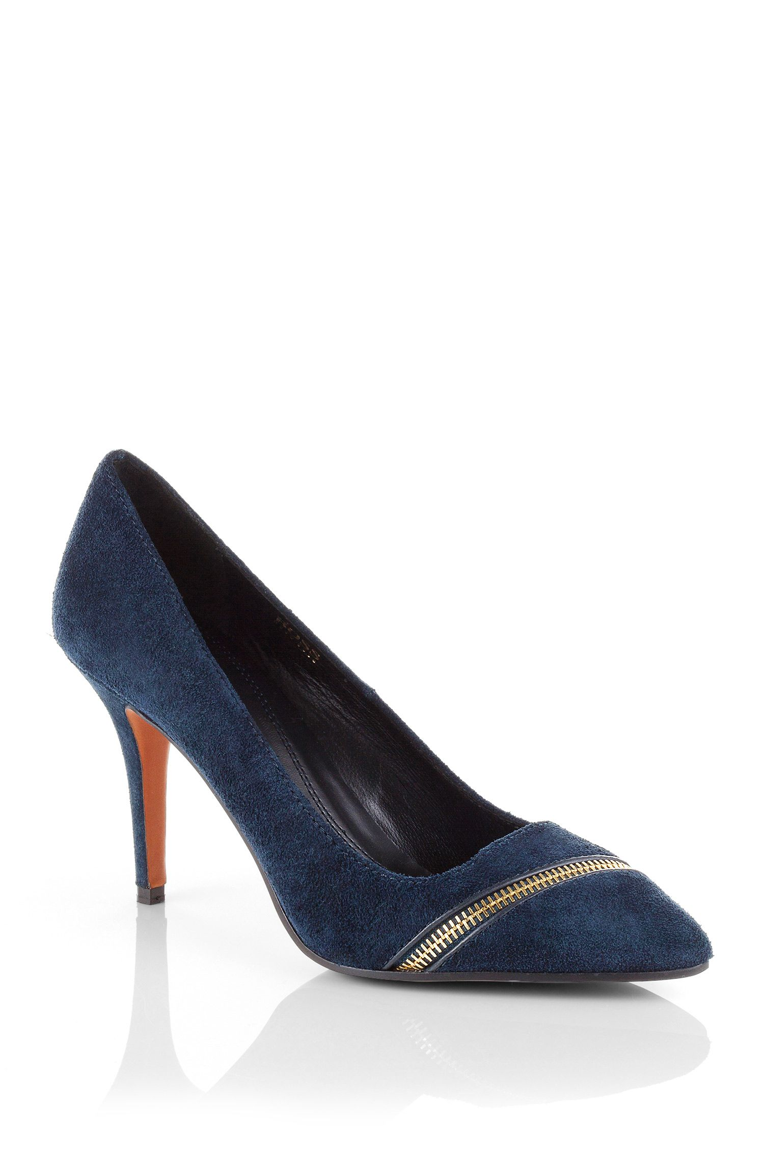 Pumps ´Irine` aus Veloursleder