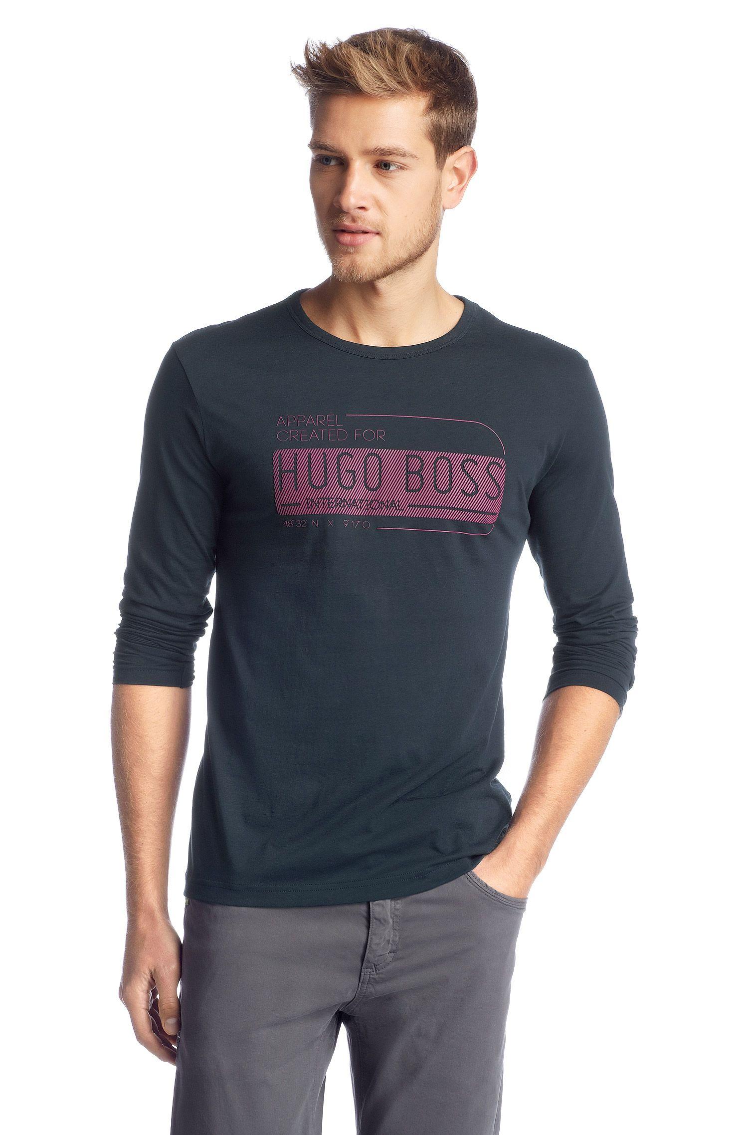 T-shirt manches longues à encolure ronde, Togn 2