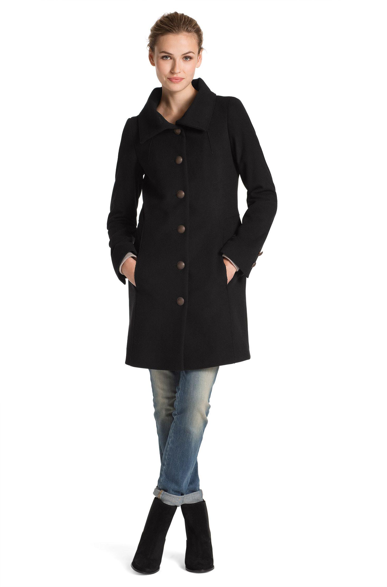 Manteau en laine mélangée, Okirana