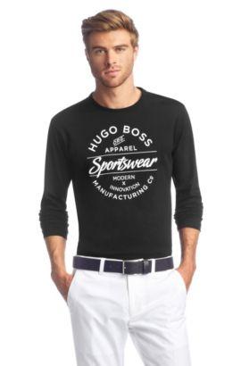 T-shirt à manches longues, Togn 1, Noir