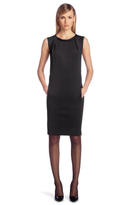 Cotton blend dress 'Kebelle', Black
