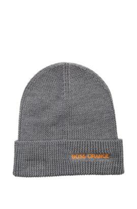 Strickmütze ´Fomero4` aus Woll-Mix, Grau