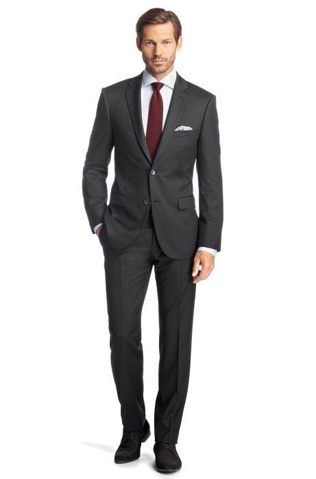 Regular Fit suit 'Howard1/Court2', Anthracite