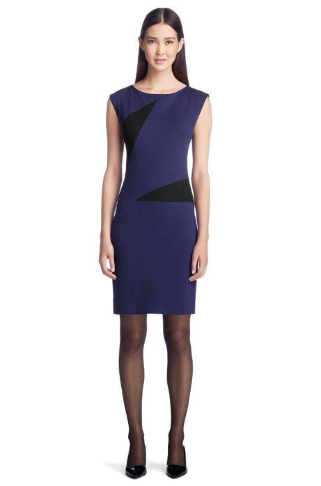 Jersey dress 'Kimby', Dark Purple