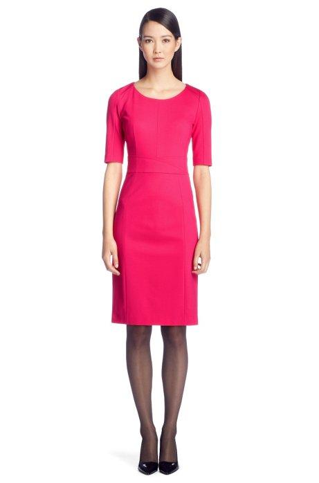 Viscose composition dress 'Kumba', Pink