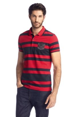 Slim-Fit Polo ´Ancona 10 Modern Essential`, Rot
