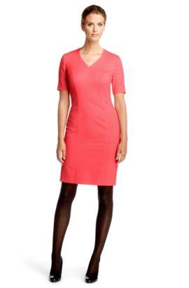Kleid ´Darlinya` aus Schurwoll-Mix, Dunkelrosa