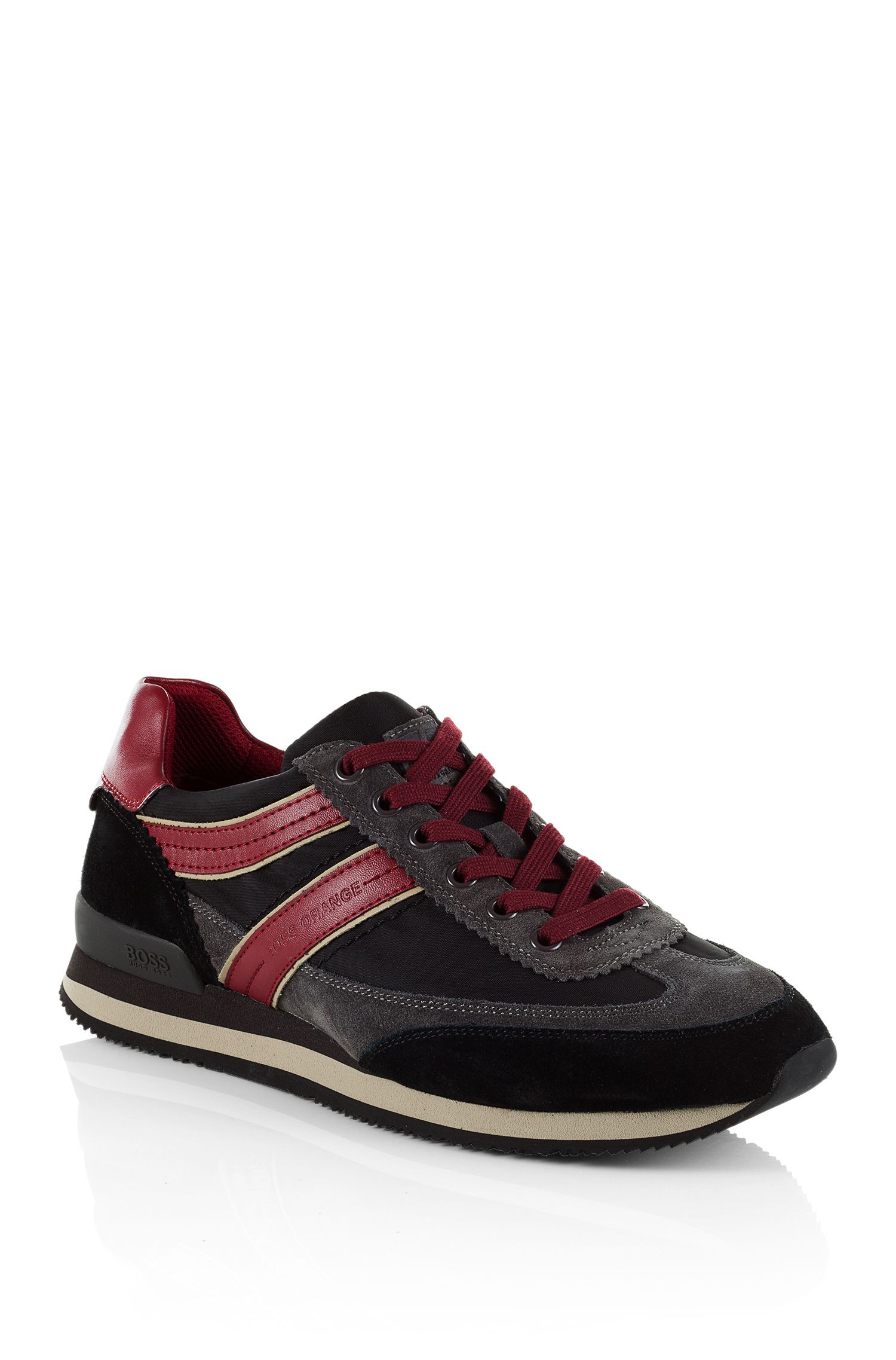 Sneaker ´Ardreo` aus Material-Mix