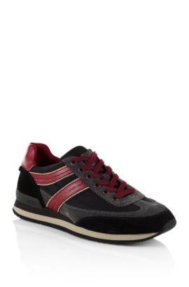 Sneaker ´Ardreo` aus Material-Mix, Dunkelgrau