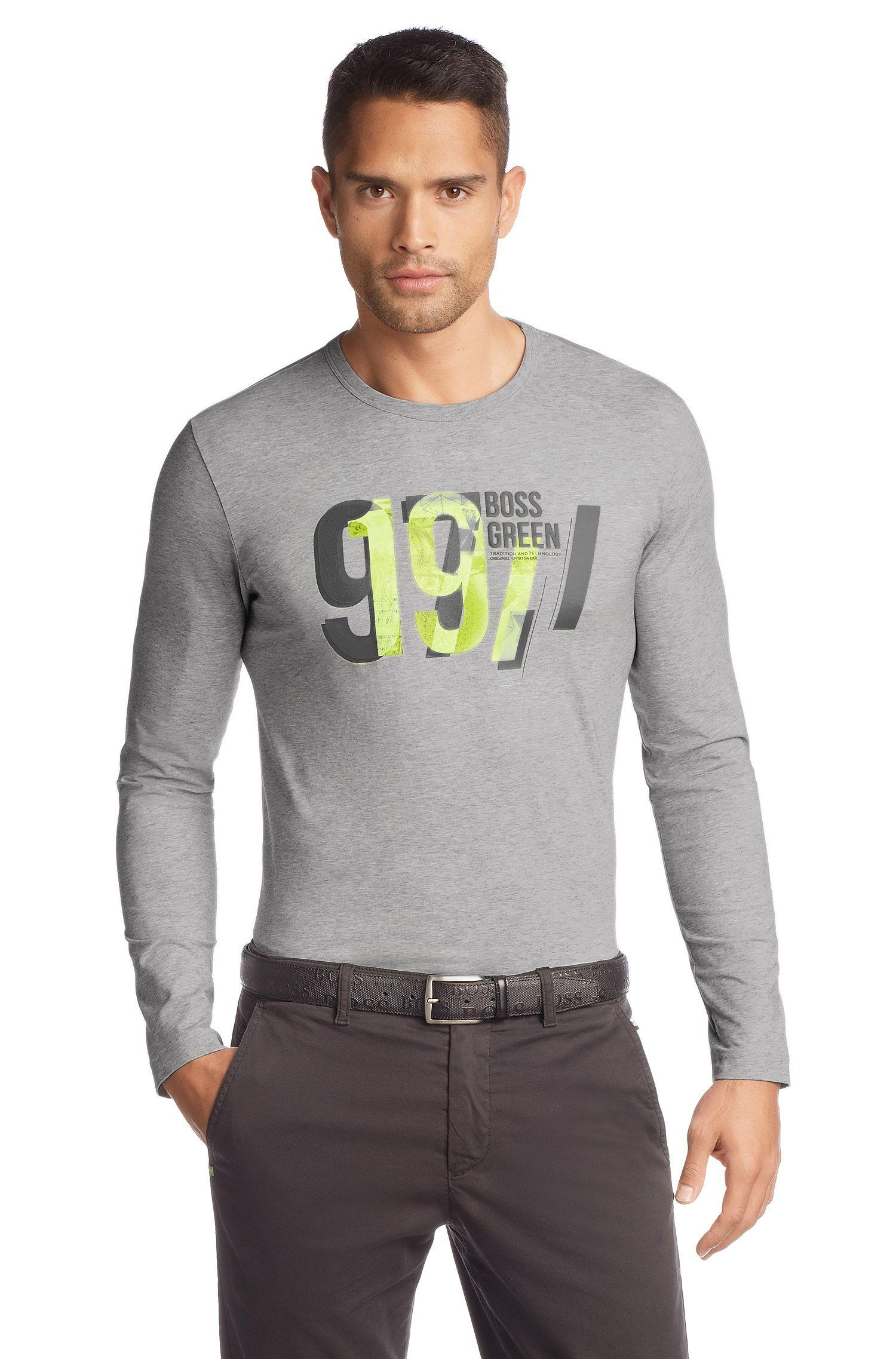 T-shirt manches longues en coton mélangé, Togn 2