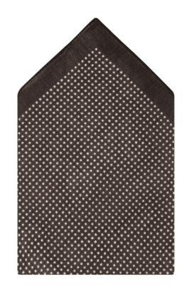 Einstecktuch ´Pocket square 33 x 33` aus Wolle, Hellbraun