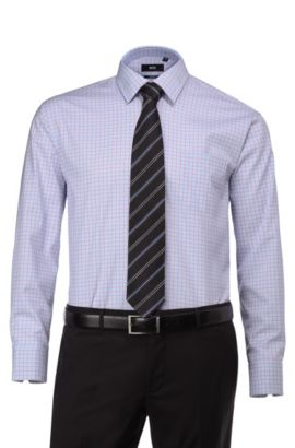 Chemise business Big & Tall, Enzone, Marron