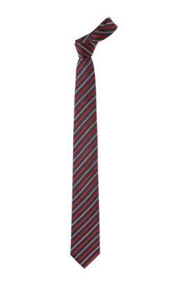 Stropdas ´Tie 7,5 cm`, van cupro, Rood