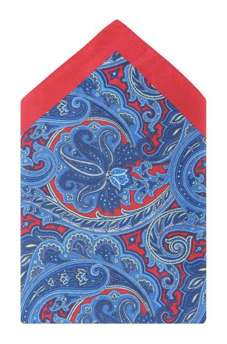 Silk pocket square 'Pocket Square 33x33', Red