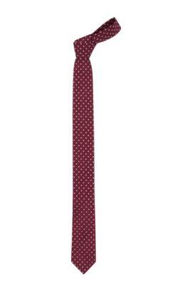 Cravate en acétate mélangée, Tie 6 cm, Rose