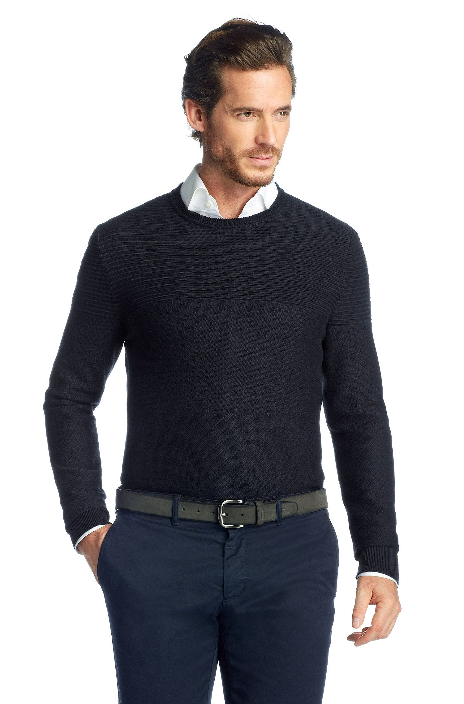 Pullover ´Niato` aus Baumwollkomposition