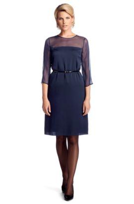 Kleid ´Diviolet` aus Seidenkomposition, Hellblau