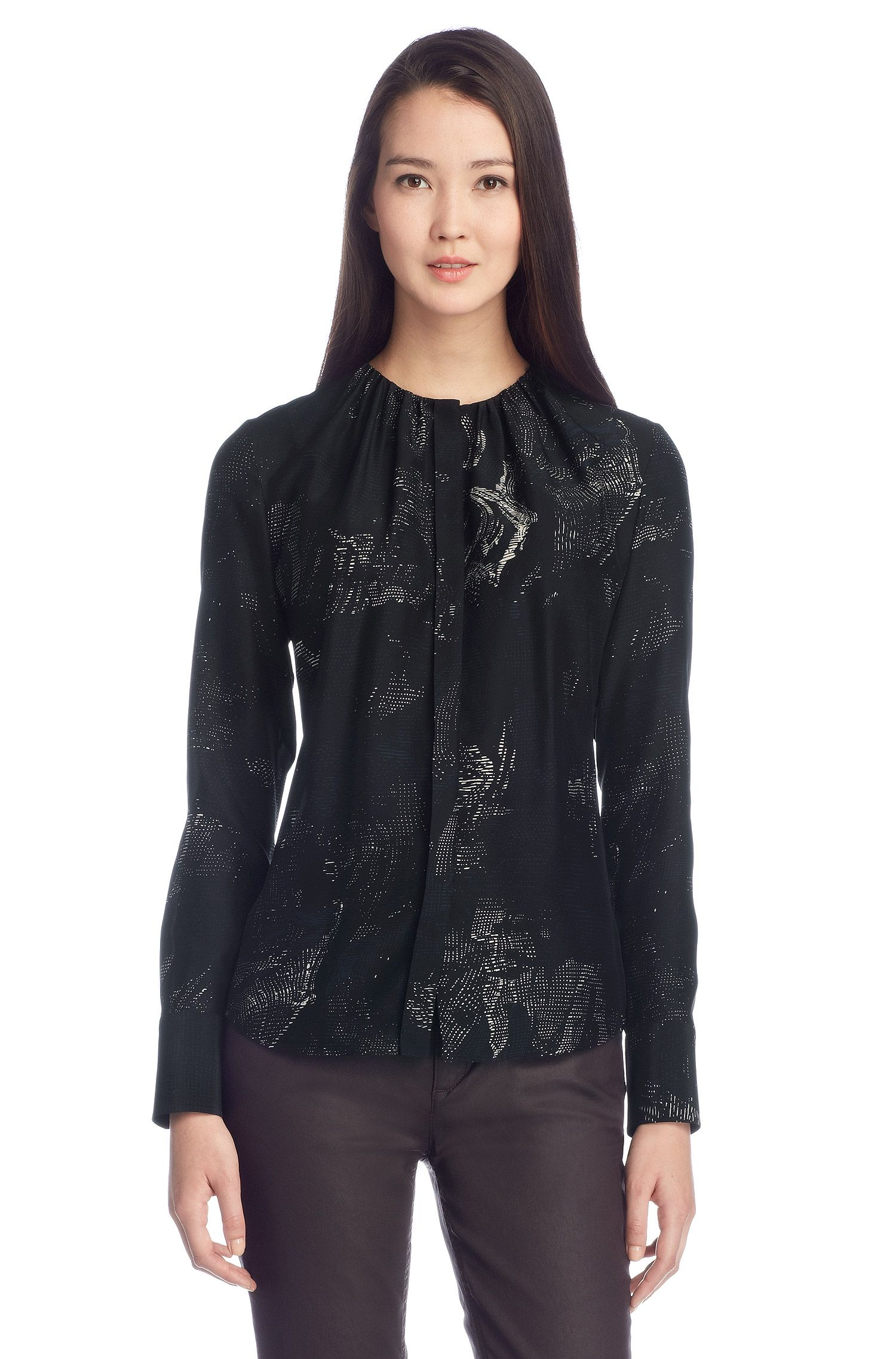 Zijden blouse 'Banora3'