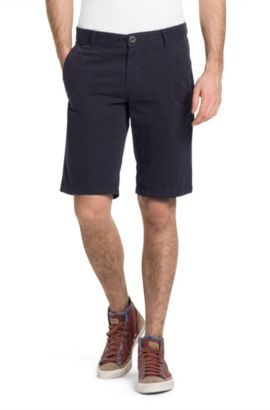 Short Regular Fit « Schino-Shorts-D », Bleu foncé