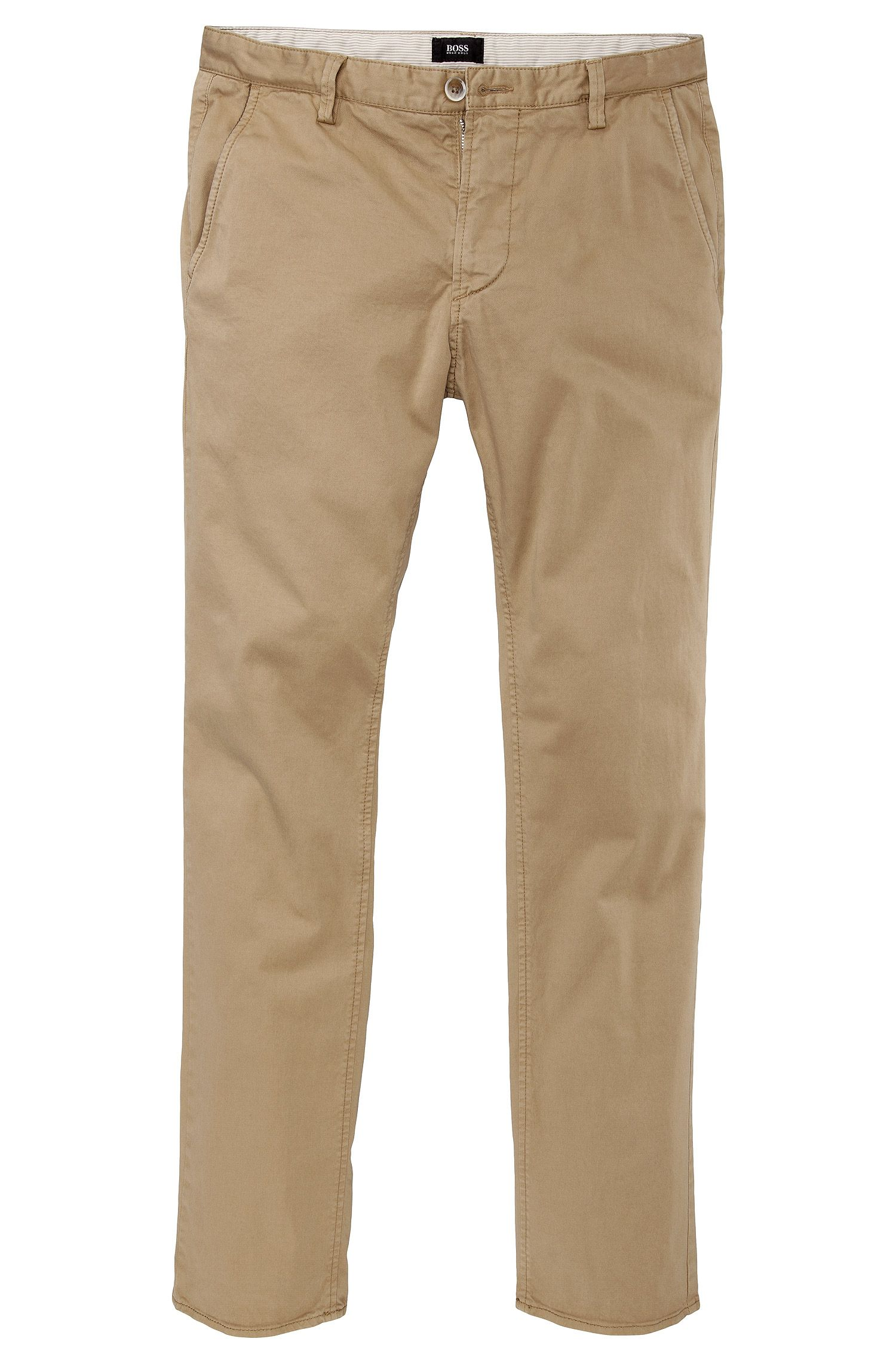 Slim fit casual trousers 'Rice-1-D modern essential'