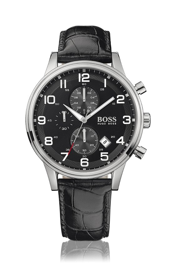 Chronograph ´HB2006` in Edelstahl-Gehäuse, Assorted-Pre-Pack