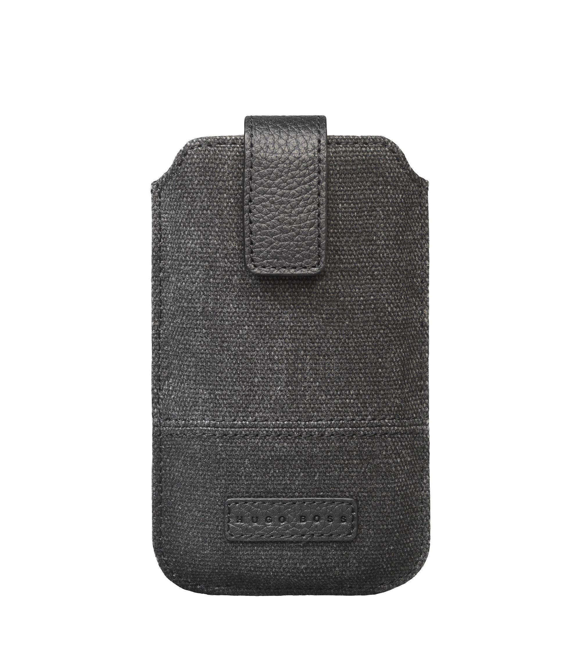 Universalhandytasche ´SCOUT` für Smartphones, Schwarz