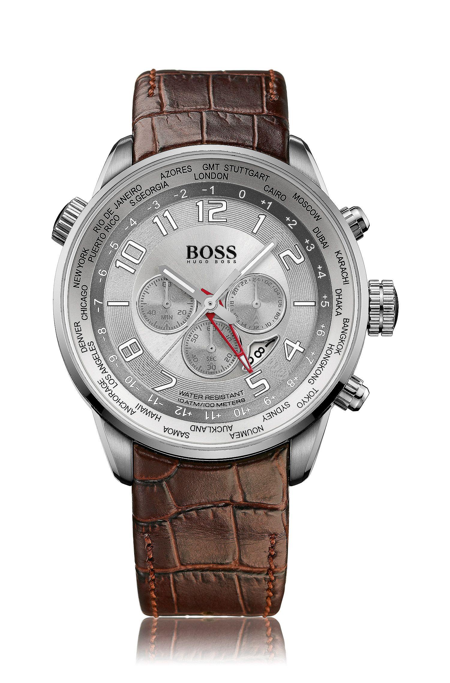 Herren-Chronograph ´HB 2031` mit Lederarmband