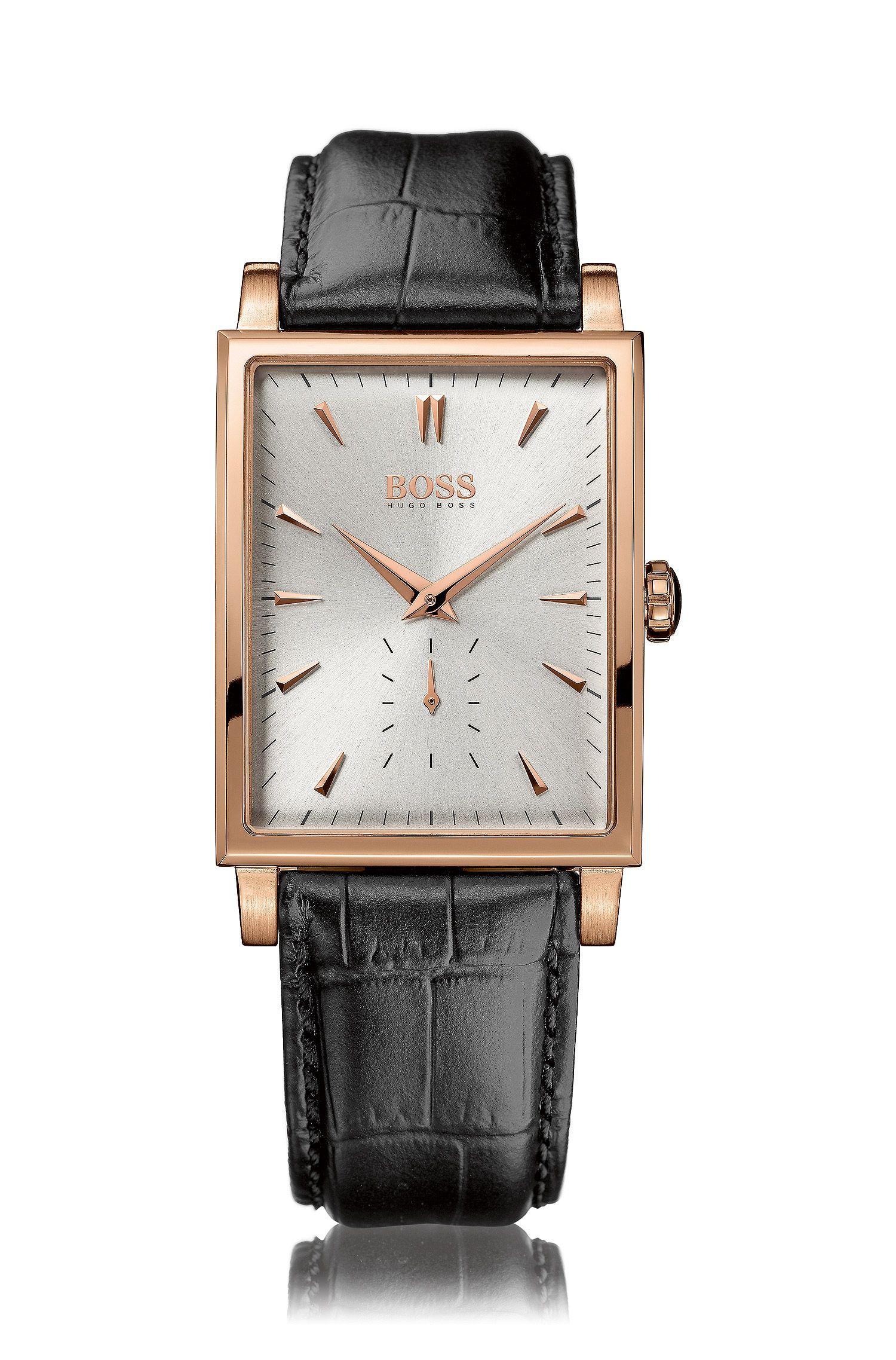 Armbanduhr ´HB 1012` in Bronze-Optik