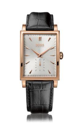 Horloge 'HB1012' in een bronslook, Assorted-Pre-Pack