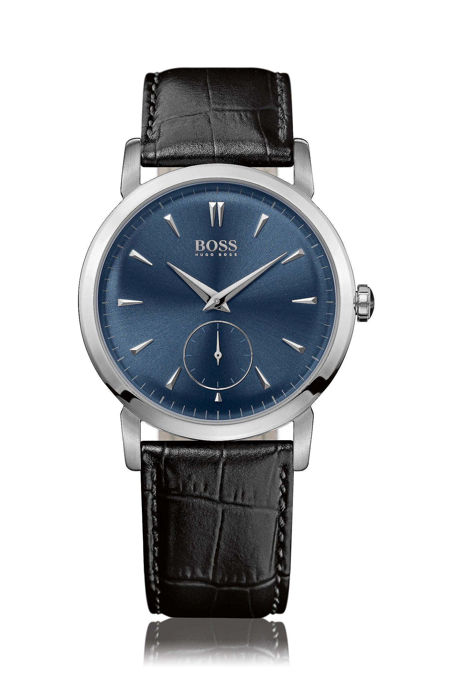 Armbanduhr ´HB 1013` aus Edelstahl