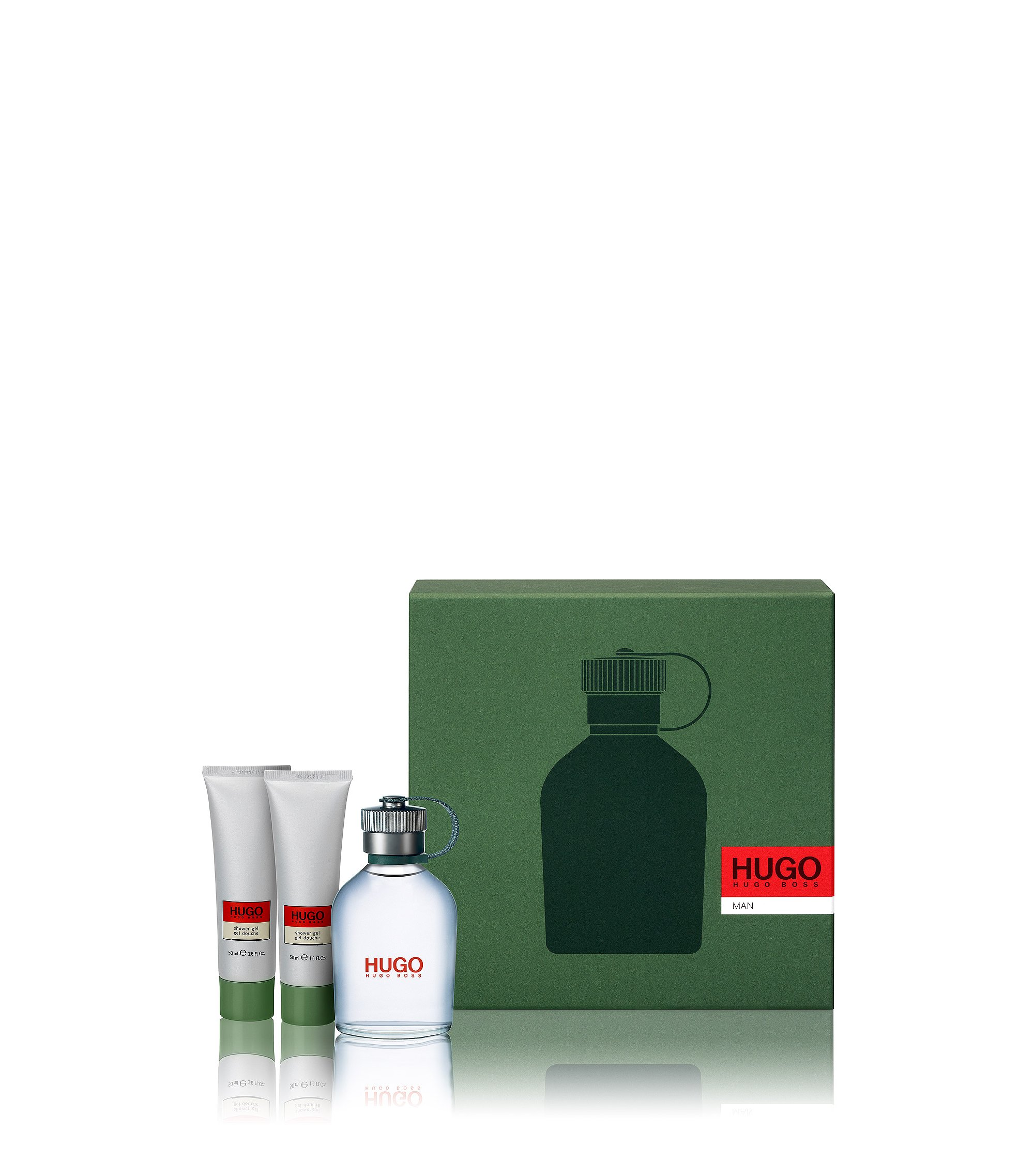 Set de regalo 'HUGO Man' con Eau de Toilette 100 ml y gel de ducha, Assorted-Pre-Pack