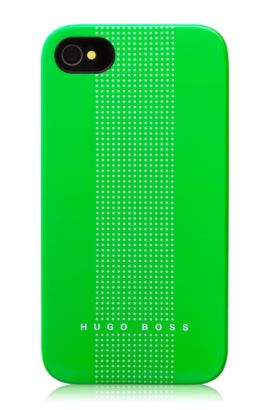 Hard Cover ´Dots Green` für iPhone 4/4S, Grün