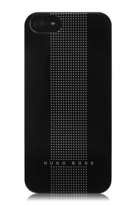 Coque rigide, Dots Black V, Noir