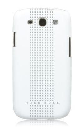 Hard Cover ´Dots White III`, Weiß