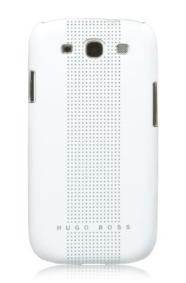 Hard Cover ´Dots White III`, Weiß