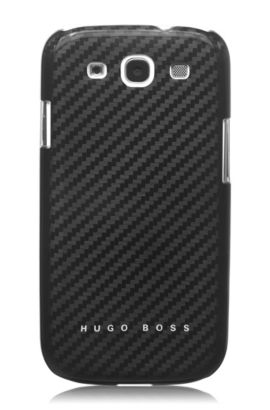 Coque rigide pour Samsung Galaxy S3, Carbon III, Noir