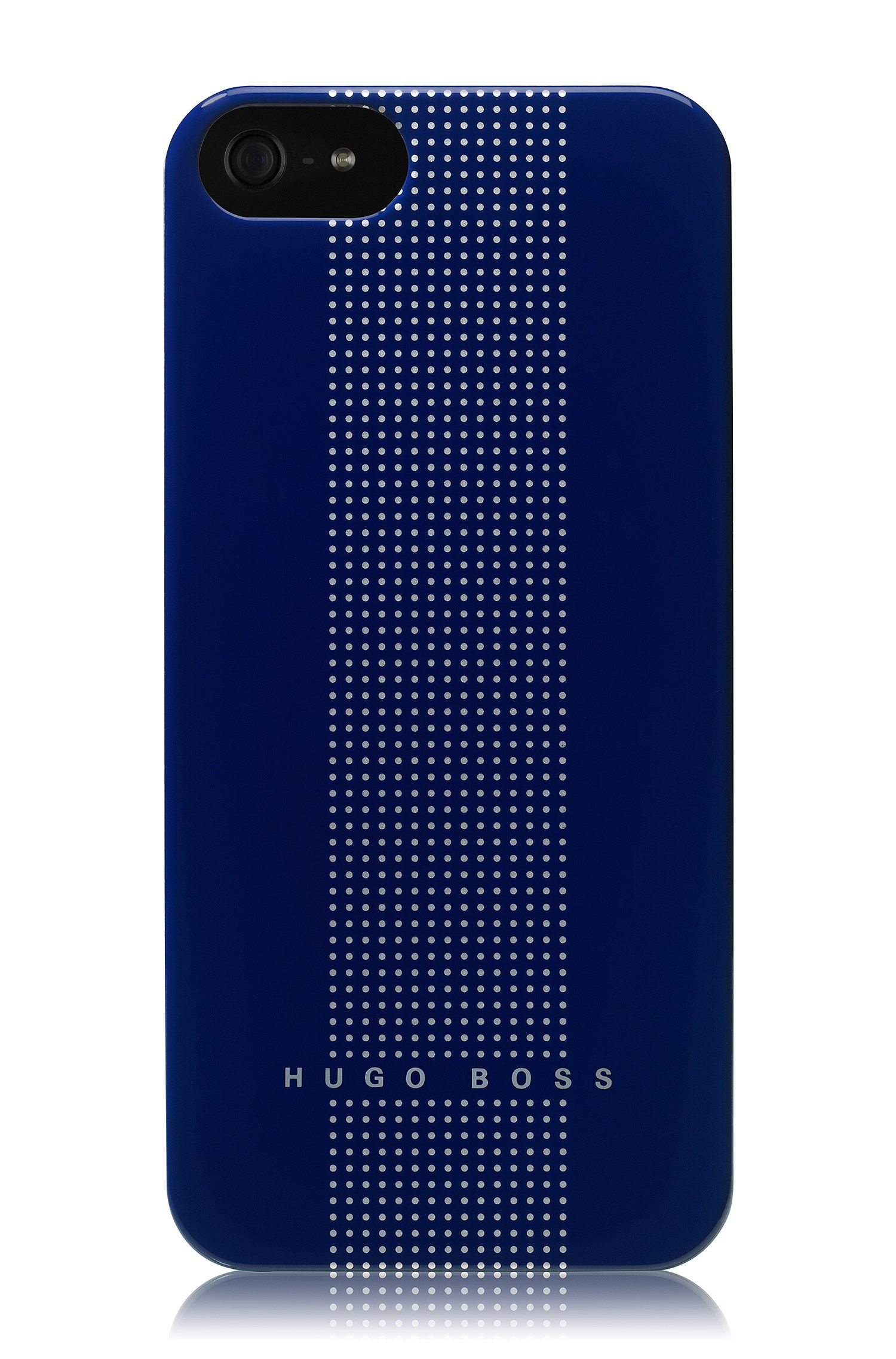 Coque rigide pour iPhone 5, DOTS BLUE V