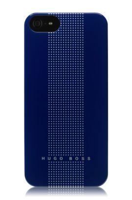 Hard Cover ´DOTS BLUE V` für iPhone 5, Blau