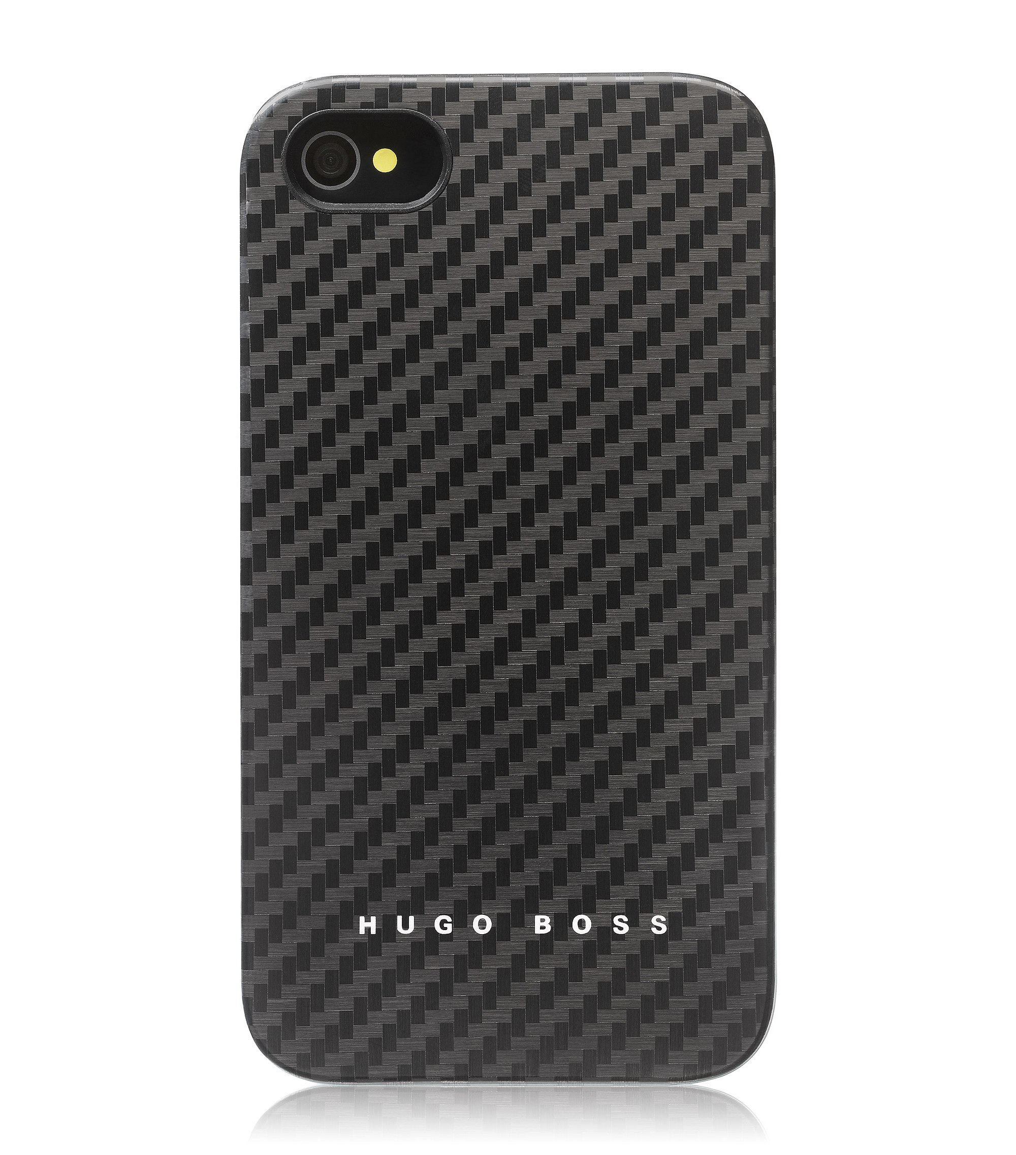 Hard Cover ´Carbon` für iPhone 4/4S, Schwarz