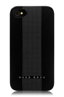 Coque rigide pour iPhone 4/4S, Dots Black, Noir