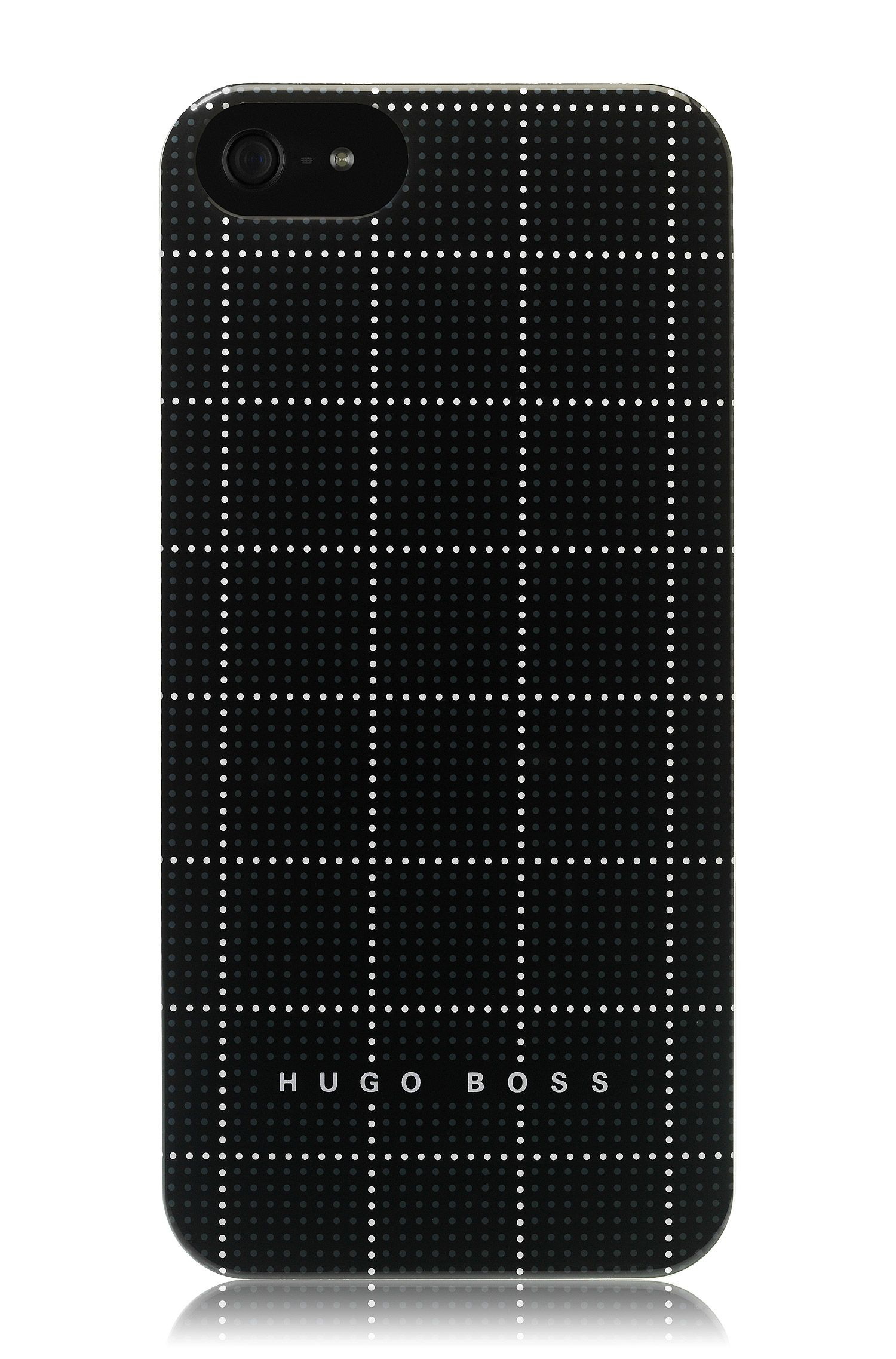 Hard Cover ´Squares Black V` für iPhone 5/5s