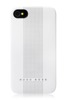 Hard Cover ´Dots White`, Weiß