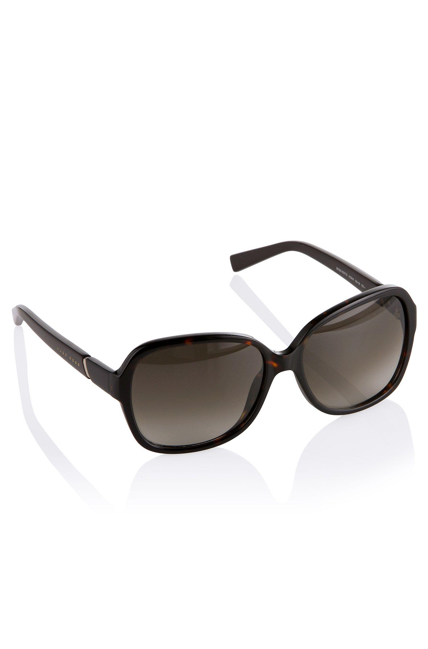 Seventies-zonnebril ´0527` met subtiel dessin