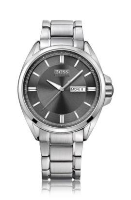 Montre-bracelet pour homme «HB301» en acier inoxydable, Assorted-Pre-Pack