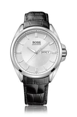 Montre-bracelet pour homme«HB301» avec boîtier en acier inoxydable, Assorted-Pre-Pack