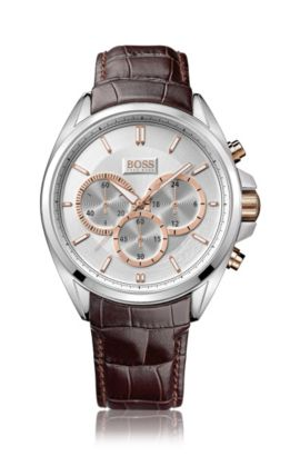 Chronographe hommes « HB301 », mouvement à quartz, Assorted-Pre-Pack