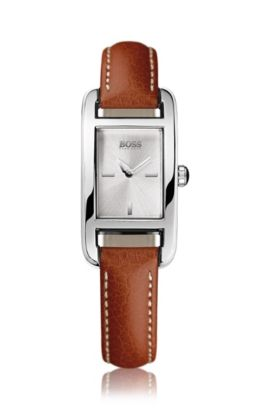 Women's wristwatch, stainless steel case 'HB304', Assorted-Pre-Pack